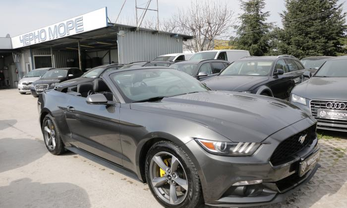 Ford Mustang 3.7 V6 cabrio automatic